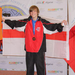 Kieren Wilson, Double Bronze Medallist 2010, Boy's Semi and Light Contact