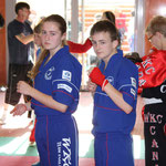 Nicola and Lewis Gemmill focused on fighting