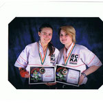 Nicola Gemmil and Sophie Collinson - Irish Open Bronze Medallists 2011