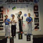 Jack Bristowe - Irish Open Bronze Medallist 2011
