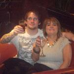 Irish Open Champion Richie with Fiona