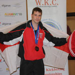 Kevin Williams, Double Bronze Medallist 2010, Men's Light and Semi Contact