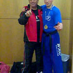 Our Chief Instructor with his World Champion son