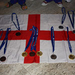 Medals won by the BCKA