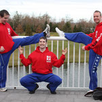 More posing from Richie Wooton, Kevin Williams and Ross Clark