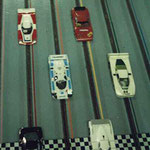 Grille de départ des 12 h de Thoiry 1987.