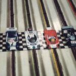 Le départ des 24 heures du Mans 1987.