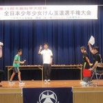 南ブロック男子決勝 山田純也(北大阪)選手vs巖力駆(大阪けん玉道場)選手