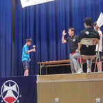 滋賀県勢で唯一のベスト4入りした中冨由基選手
