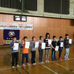 ファイナルカップ級の部Ⅰ(4級~準初段)表彰
