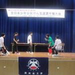 南ブロック女子決勝 河井笑里(大阪けん玉道場)選手vs嶋田爽(北大阪)選手
