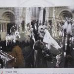 レーニエ3世・グレース・ケリー結婚式
