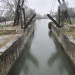 アルルのヴァン・ゴッホ橋 橋のみ移設されたもの