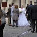 ニース 旧市街 結婚式に出会う①