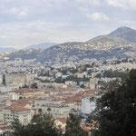 岩山の頂上まで登りニースの街を見下ろす⑥