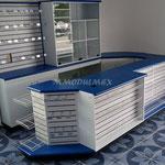 Muebles mostrador caja