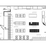 Góndolas de madera, muebles de madera, anaqueles para tiendas, estantes de melamina, góndolas para abarrotes, góndolas para tienda, planos de tiendas