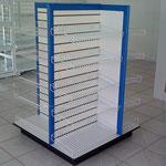 estantes para tiendas, góndolas para abarrotes, góndolas metálicas, anaqueles metálicos, muebles metálicos para negocio, estantes metálicos