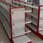Estantería metálica, postes metálicos, repisas metálicas, anaqueles metálicos, góndolas metálicas, góndolas para tiendas