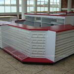 Muebles para caja, muebles para cobro, checkout, muebles para tiendas, cajas para negocio, cajas de madera, mostradores para minisuper, mostradores para negocio