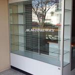 vitrinas para papelerías, vitrinas para farmacias, mostradores para farmacias, mostradores para papelerías, muebles para farmacias, muebles para papelerías, vitrinas aparadoras