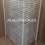 Parrillas de alambre, Exhibidores de alambre, mueble para cartulinas, mueble para papel extendido, exhibidor para cartulinas