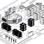 Diseño de tienda oxxo