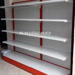 Estantería metálica, góndolas metálicas, anaqueles metálicos, repisas metálicas, góndolas para tienda, góndolas para abarrotes, muebles para minisuper, góndolas para supermercado