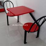 Mesas para restaurantes, mesas para comedores industriales, mesas de fibra de vidrio, mesas para tiendas tipo Oxxo