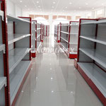 Estanterías metálicas, estantes de lámina, estantes metálicos, repisas metálicas, repisas de metal, entrepaños flotantes