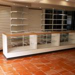 Vitrinas para farmacia, mostradores para farmacia, mostradores para papelería, vitrinas para papelería