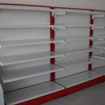 Estantería metálica, góndolas metálicas, anaqueles metálicos, repisas metálicas, góndolas para tienda, góndolas para abarrotes