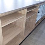 Mueble de madera para negocio