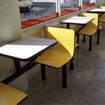 Mesas para comedores y restaurantes