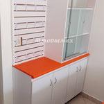 vitrinas para papelerías, vitrinas para farmacias, mostradores para farmacias, mostradores para papelerías, muebles para farmacias, muebles para papelerías