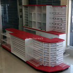 Vitrina para papelería, vitrina para farmacia, mostrador para papelería, mostrador para farmacia