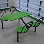 Muebles para fastfood, Mesas