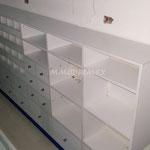 vitrinas para papelerías, vitrinas para farmacias, mostradores para farmacias, mostradores para papelerías, muebles para farmacias