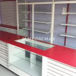 Mostrador vitria para papelerías o farmacias