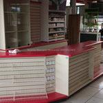 Muebles de madera para negocio