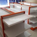 Góndolas para abarrotes, muebles para abarrotes