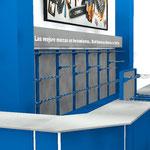 Muebles para ferreteria, muebles tipo truper, mostradores para negocio de pinturas, mostradores para ferretería, exhibidores para tlapalerías y ferreterías