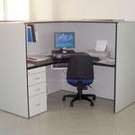 Estación de trabajo para oficina, Mesa de juntas, muebles de oficina, archiveros, escritorios de melamina, escritorios para oficina, muebles para oficina