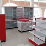Muebles para tiendas tipo Oxxo