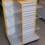 Góndolas de madera para tiendas