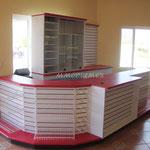Muebles de cobro para negocio