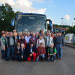 Teilnehmer der Fahrt nach Bad Lauchstädt