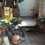 Erntedankfest in der Kirche Husby