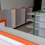 Muebles para tiendas oxxo