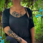 Cécile, formation Airbrush tatoos , 3 jours consécutifs